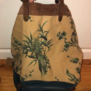 lucky brand handbag, backpack straps